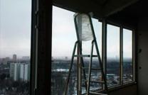 Остекление с крышей во время монтажа - фото работ