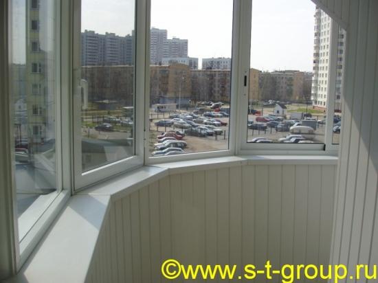 Остекление балконов и лоджий с выносом в москве и области (в.