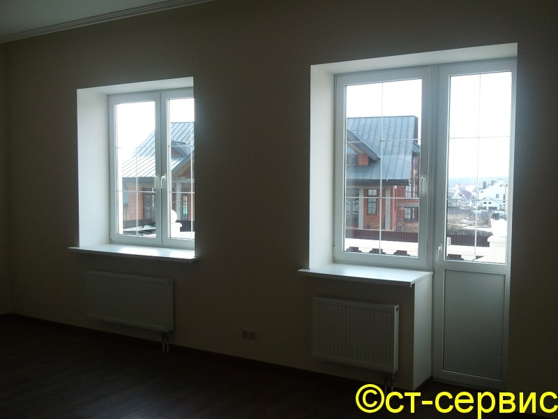 Пластиковые окна и балконные блоки: балконный блок с белыми .