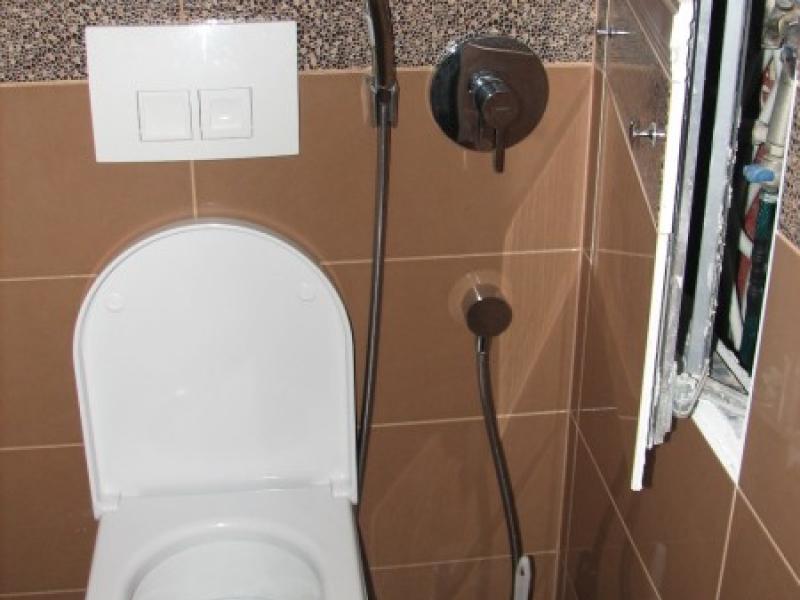 Как сделать лючок в туалете